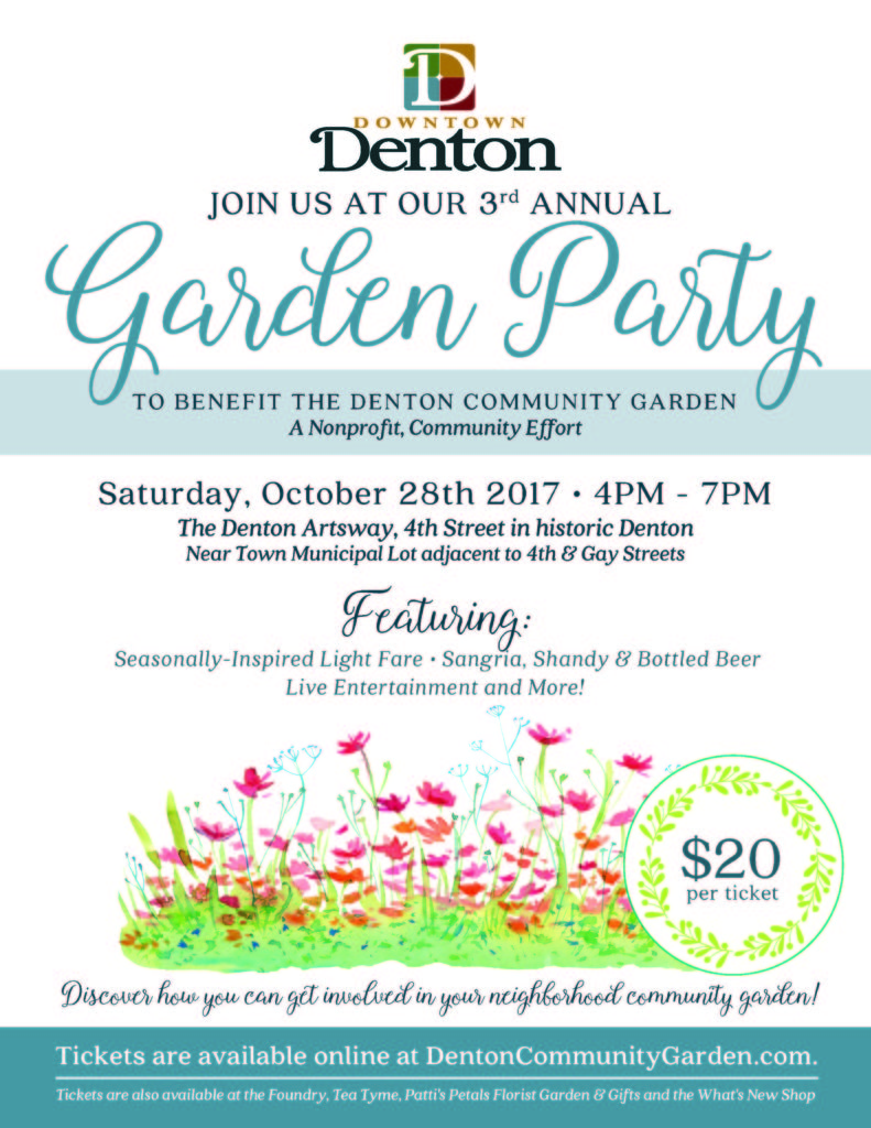 Garden Gala Updated
