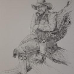 cowboy-on-a-log