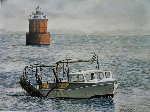jack sealman rock hall lighthouse